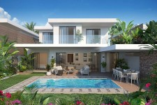KI RESORT VILLAS : Villa PDS 3 CH à vendre – Grand Baie